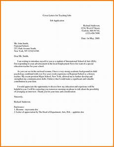 9 introduction letter for teaching job introduction letter