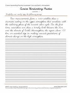 cursive handwriting worksheets 21999 cursive handwriting practice worksheet 1 5 worksheet for 2nd 3rd grade lesson planet