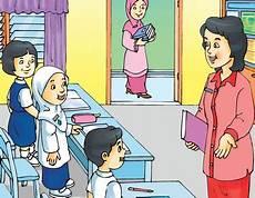 Gambar Kartun Guru Yang Sedang Mengajar Kata Kata Bijak