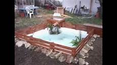 creation de bassin exterieur fabrication d un bassin pour 50 euros