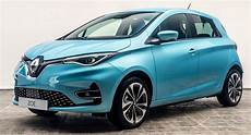uk s 2020 renault zoe priced from 163 25 670 or 163 18 670 with
