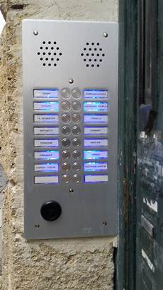 Platine Interphone Immeuble R 233 Fection Plaque D Interphone Dimelec 201 Lectricit 233