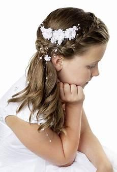 Kommunion Frisur Mädchen - kommunion frisuren f 252 r lange haare