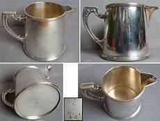 pichet pot 224 lait en m 233 tal argent 233 ercuis ebay