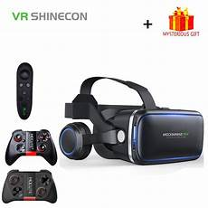Reality Smartphone Glasses by Vr Shinecon 6 0 Casque Helmet 3d Glasses Reality