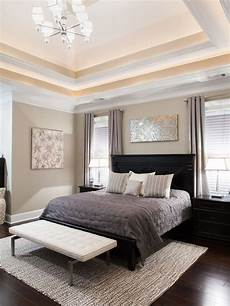 bedroom design transitional bedroom with light brown wall paint color also black modern bed