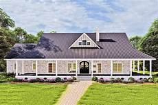 small country house plans with porches plan 25018dh one level country home plan with idyllic