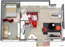 Roomsketcher Wohnidee Kleine Wohnung Einrichten 3d