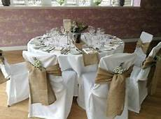 150 burlap 6 quot x108 quot chair cover sashes bows natural