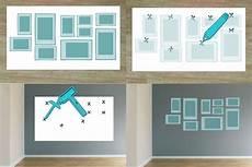 bilderrahmen an wand anordnen bilder aufh 228 ngen anordnung leicht gemacht anleitung ideen