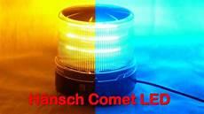 h 228 nsch comet m led kennleuchte blau gelb emergency light