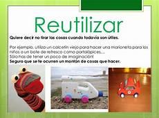 segundo primaria reducir reciclar y reutilizar