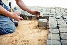 pflastersteine verlegen mischungsverh 228 ltnis zement