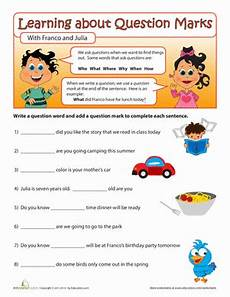 question words worksheet education com