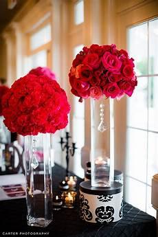 short red ball of carnation flower arrangements can also