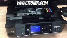 How To Change The Ink Cartridges On An Epson Xp 442