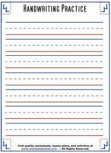 lined paper handwriting worksheets 15687 handwriting sheets printable 3 lined paper