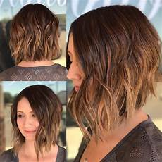 angle bob wavy hair for round faces flattering 40 most flattering bob hairstyles for faces 2019