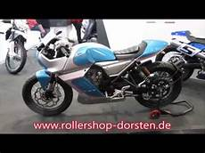 F B Mondial Pagani 125 Auf Der Motorradmesse In Dortmund