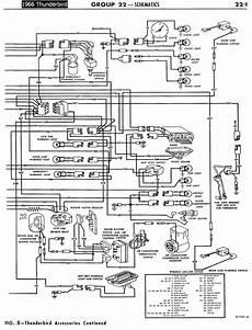 1958 68 ford electrical schematics