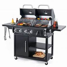 gas kohle grill kohle gas kombigrill buffalo bbq and grill grillen