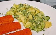Nickys Bayerischer Kartoffelsalat Mit Gurke Rezept Mit