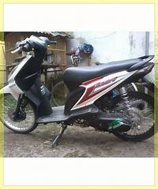 Modif Motor Beat Sederhana by Modifikasi Honda Beat Pgm Fi Putih Automotivegarage Org