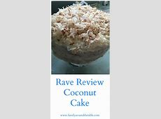 rave review coconut cake image