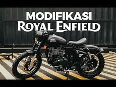 Royal Enfield Modifikasi by Modifikasi Royal Enfield Classic Stealth Black 500cc