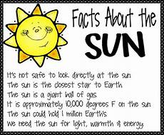 facts about the sun worksheet sun facts 17 png image teaching