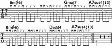 cool guitar chord progressions cool guitar chords in 7 8 time cyberfret