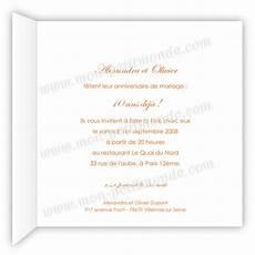 invitation 10 ans de mariage original invitation 10 ans de mariage mon petitmonde