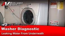 Whirlpool Washer Diagnostic Leaking Water From