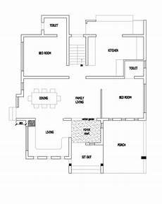 4 bedroom house plan kerala 25 lakhs modren double storey 4 bedroom home in 1500 sqft