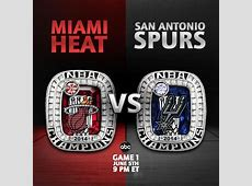 heat vs spurs live