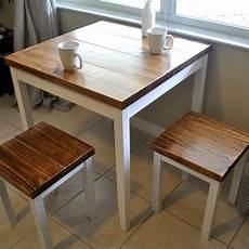 Dining Table With Stools by Farmhouse Breakfast Table Or Dining Table Set With Or