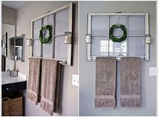 10 Creative DIY Bathroom Wall Decor Ideas