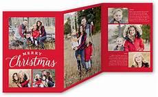 merry greetings grid 5x7 tri fold christmas cards shutterfly