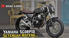 Modifikasi Custom by Modifikasi Yamaha Scorpio Tracker Garage Vlog
