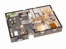 plan maison moderne 3d plan maison plain pied 3d gratuit plan maison plan