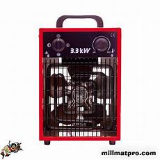 chauffage electrique radiant 91993 chauffage radiant 233 lectrique 3 6 9kw 400v millmatpro sod 11026
