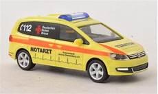 volkswagen sharan drk luchow notarzt herpa modellauto 1