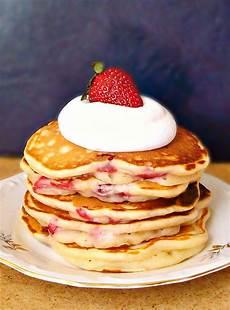 strawberry pancakes the kitchen