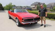 1967 chevy camaro rs convertible classic muscle car for sale in mi vanguard motor sales youtube