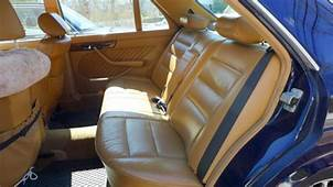 MERCEDES BENZ MIDNIGHT BLUE PAINT/BEIGE LEATHER 420SEL S