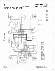 honda express wiring diagram 1980 honda express nc50 wiring questions moped army