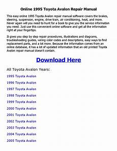 free download parts manuals 1995 toyota avalon regenerative braking 1995 toyota avalon repair manual online by whenyouact issuu