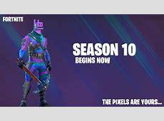 Fortnite Season 10 I Pixels I Fanart   YouTube