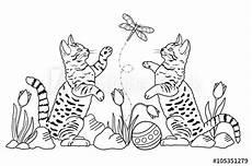 Katzen Malvorlagen Chords Quot Katzen Malvorlage Quot Stockfotos Und Lizenzfreie Bilder