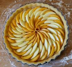 tarte aux pommes et aux nectarines